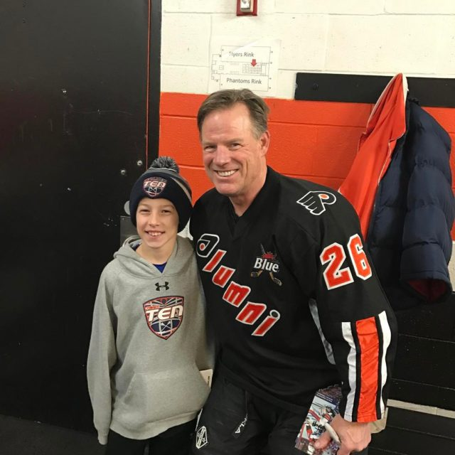 TeamTEN representing with Flyer legend Brian Propp! Team Canada linehellip