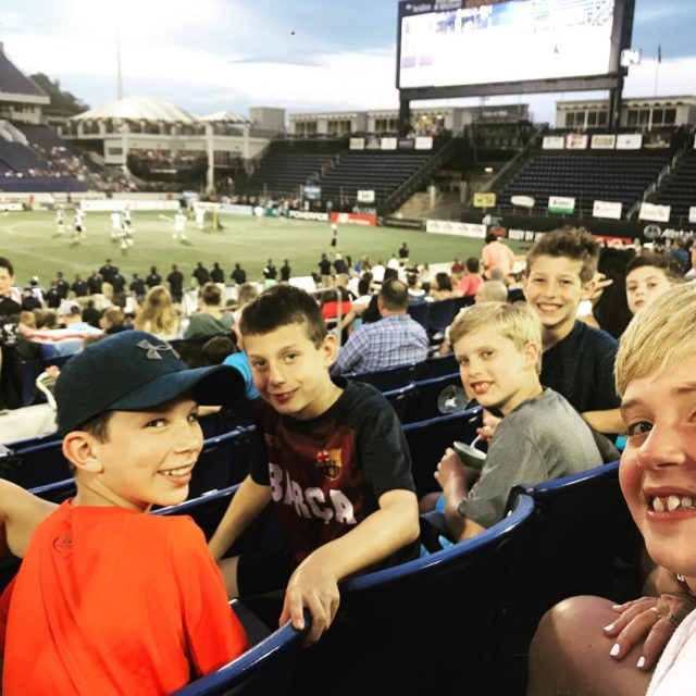 TeamTEN taking in some MLL action in Annapolis Some futurehellip