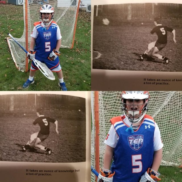 TeamTEN 2025 Orange player  Mikey wears 5 bc hishellip